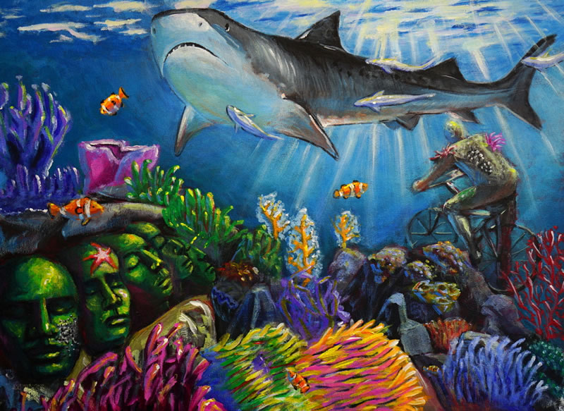international art competition inspired by coral reefs kslof living