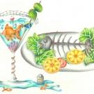 """""""Fishy Business"""" by Tori Qiu, Age 16, Nebraska"""