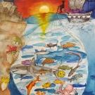 """Pirate Fishing Under the Radar"" by Jiaying Zhug, Age 11, Ontario, Canada"