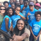 2.	Group shot of students from Abaco Central High School participating in the B.A.M. Program.
