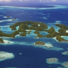 The Ngerukewid Islands or Seventy Islands are Palau\'s iconic landscape symbolizing pristine beauty. The Seventy Islands (literally translated from Palau\'s name Ngerukuid meaning seventy). These islands are part of the Rock Islands, an archipelago that includes approximately 250 to 300 islands.