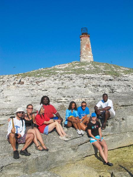 A trip to Lighthouse Island.