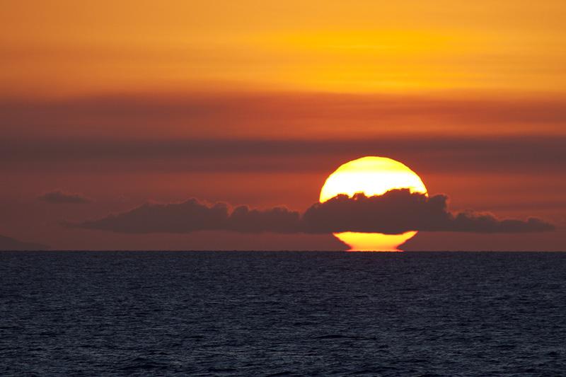 Oooo... Sunset!