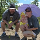 Heather Brand and Matt Trumbull help to restore the mangroves in Jamaica so that one day their daughter will be able to enjoy this beautiful ecosystem.
