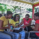 Educational outreach in Jamaica.