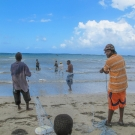 Local fisherman who worked with the Foundation to help set up fish sanctuaries.