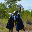Everyone has a great time on the mangrove field trip.