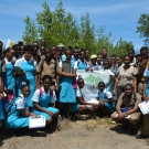 William Knibb High School JAMIN Students.