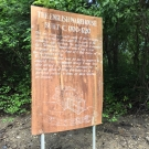 As part of the J.A.M.I.N. year 1 program, we take students from Marcus Garvey High School to Seville Heritage Park. This park is a cultural site where the remnants of old buildings still exists. This sign tells of a building that once stood there.
