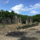 The remnants of an English warehouse that once stored sugar during the 1700's, which is located at Seville Heritage Park. This park is the location of the J.A.M.I.N. field trips for Marcus Garvey High School.