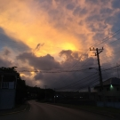 We ended a successful day with a beautiful sunset in Falmouth, Jamaica.