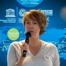Fanny Douvere, Coordinator of the Marine Programme at the UNESCO World Heritage Centre (© Daniel Correia/UNESCO)