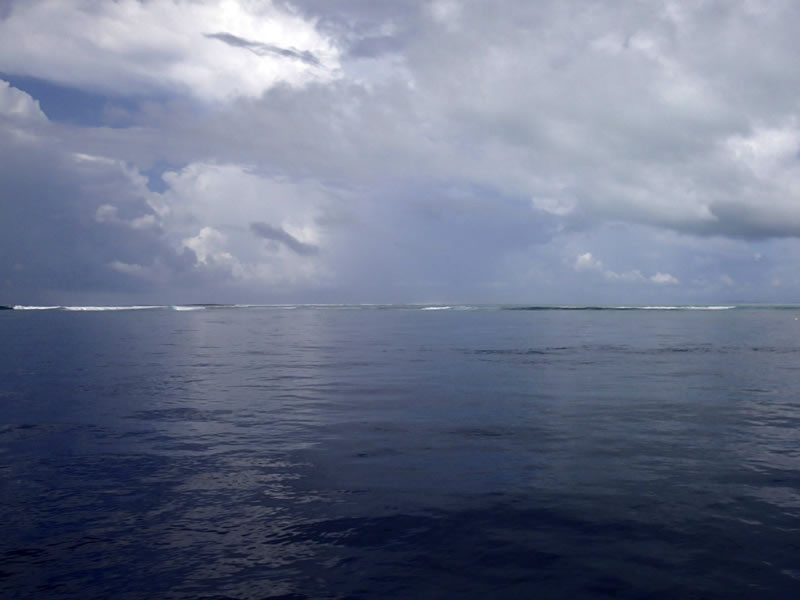 Channel near Crocodile Point, Palau.
