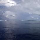 Channel near Crocodile Point, Palau.