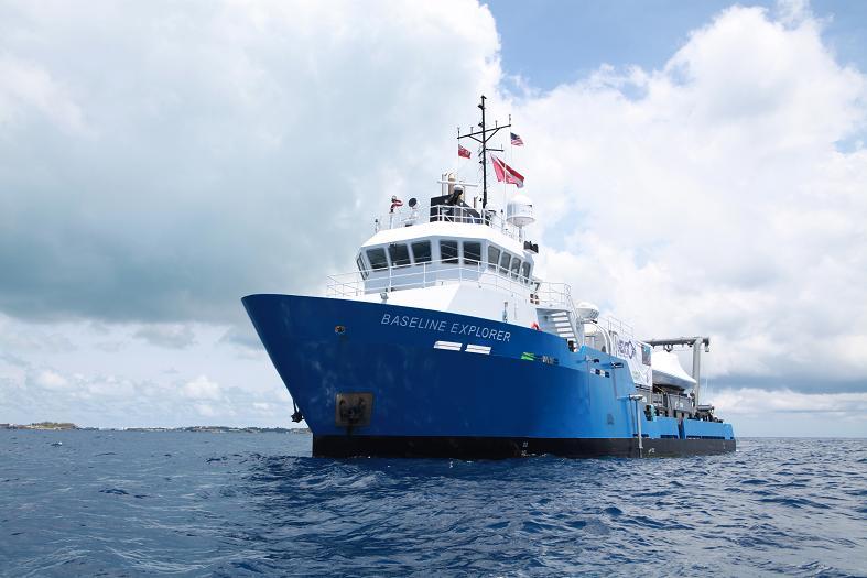 The Nekton research vessel, Baseline Explorer.