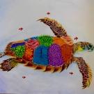 """Liberty Turtle (Libertatum testudo graeca)' By Rebecca Kneale, 15 New Zealand"