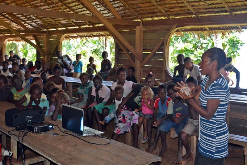 Solomon Islands Topside Living Oceans Foundationliving