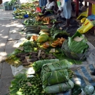 Fruit and vegetable market in Gizo.