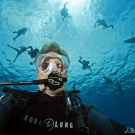 Have you ever taken a scuba selfie? Here is a good one from Ken Marks.
