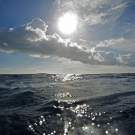 We just surfaced from a dive to see this beautiful view.