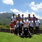 Members of the Science team and crew visit parts of St. Kitts.