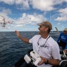 Will Robbins uses a camera drone to find sharks on reeftops. © Jürgen Freund/LOF