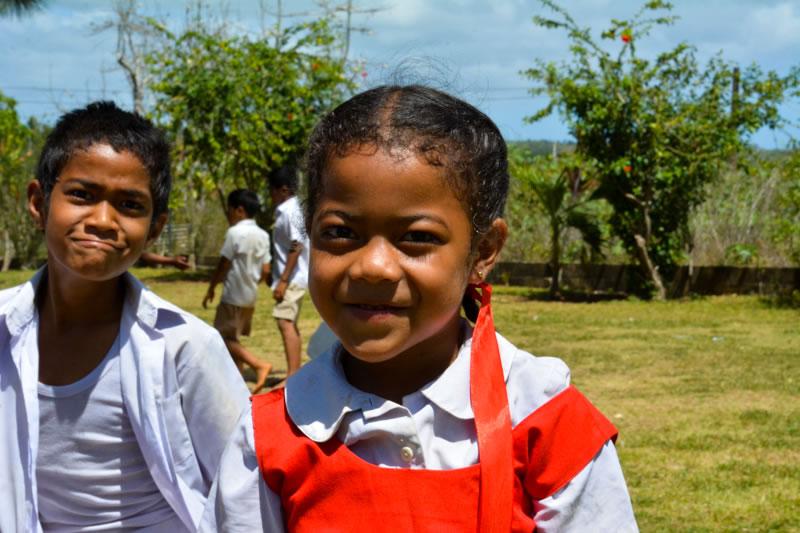 Students at GPS Tu'anekivale enjoying recess