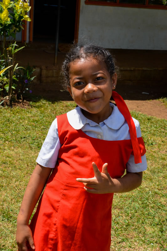 GPS Tu'anekivale student posing for a picture