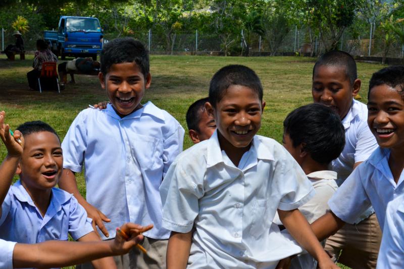 GPS Tu'anekivale students having fun during recess.
