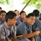 Boys at Vava'u High School