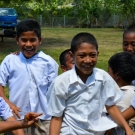 GPS Tu'anekivale students having fun during recess.