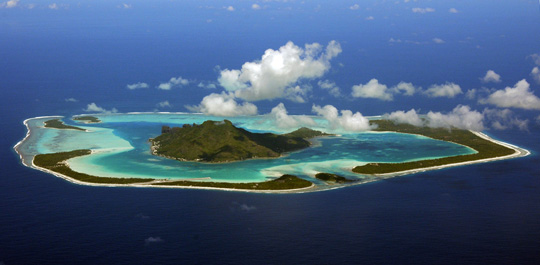 Remote Coral Atolls of French Polynesia Seen By Global ... | 540 x 265 jpeg 66kB