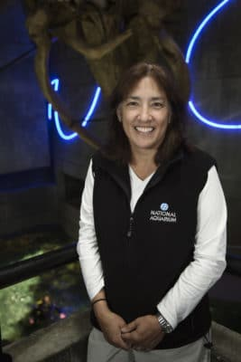 Holly Bourbon of the National Aquarium