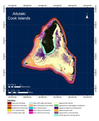 Aitutaki Benthic Habitat Map