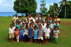 Tuvuca Island and Village primary school