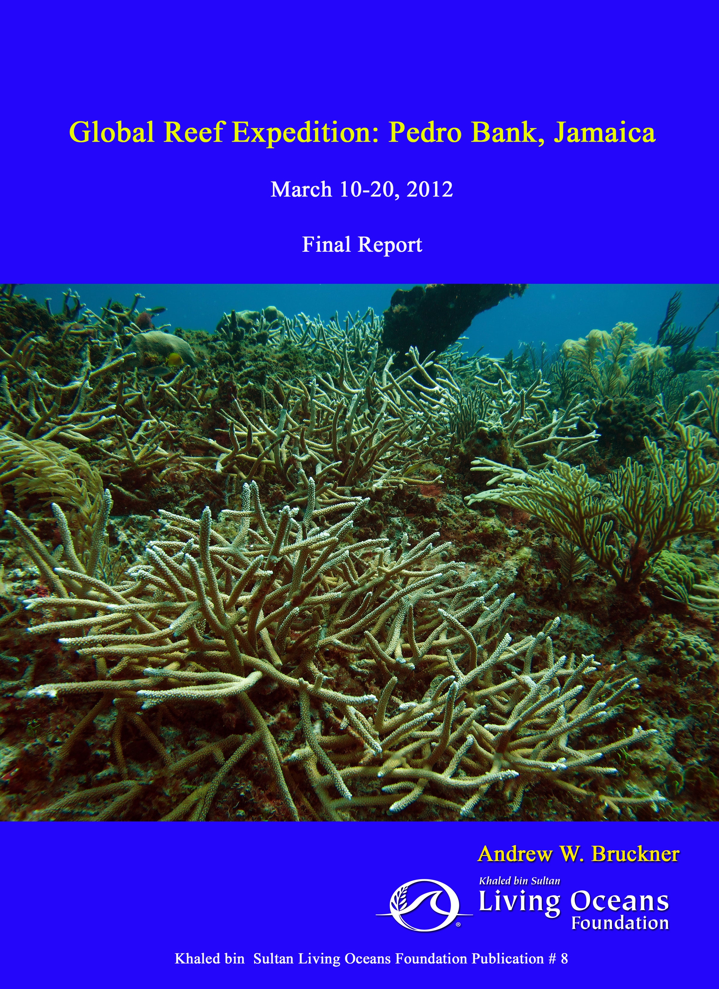 Jamaica Final Report by Living Oceans Foundation Global Reef Expedition
