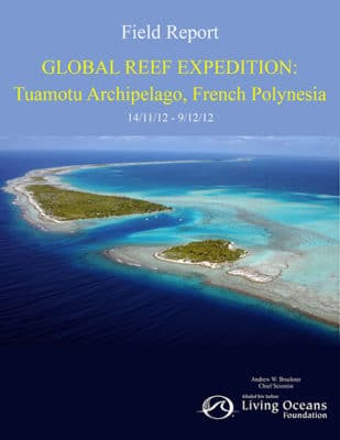 Tuamotu Field Report, French Polynesia Coral Reef Research
