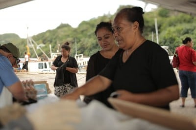 Silika Ngahe, the officer in charge of fisheries for Vava'u.