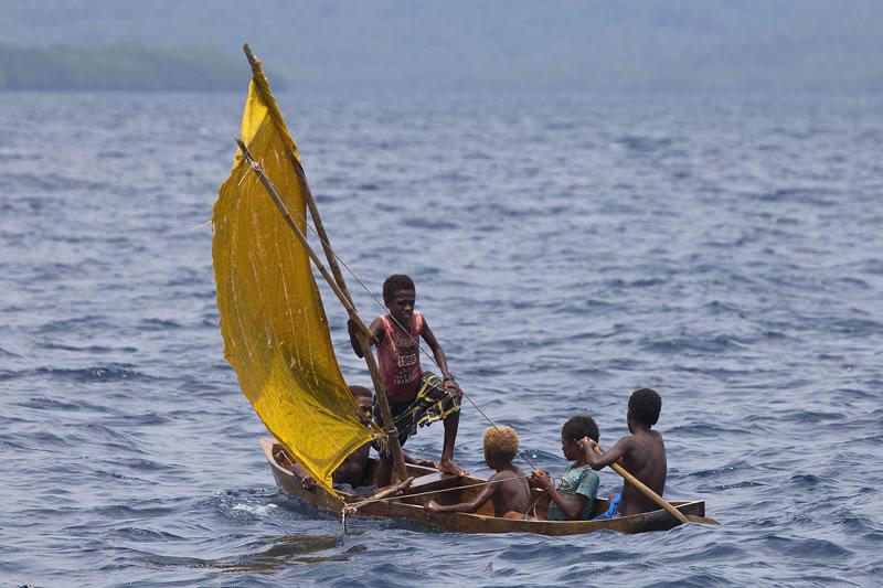 Traditional Dugout Canoes Of Solomon Islands (KSLOF)Living