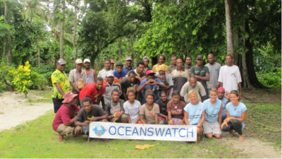 Solomon Islands OceansWatch Reef Guardians are Partners in Coral Reef Education