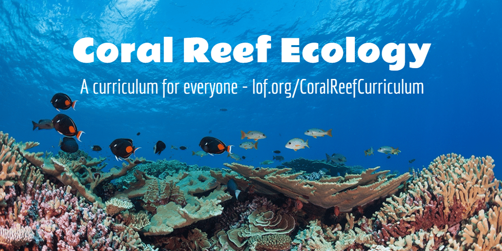 Free Online Coral Reef Ecology Curriculum At Kslof Education