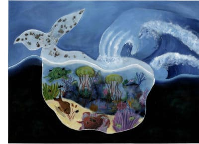 Second Place: Jonathon Xu, Age 12, Ontario, Canada; The Precious Ocean Jewels
