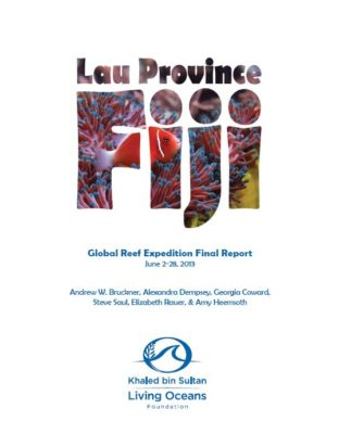 Global Reef Expedition Lau Province Fiji Final Report