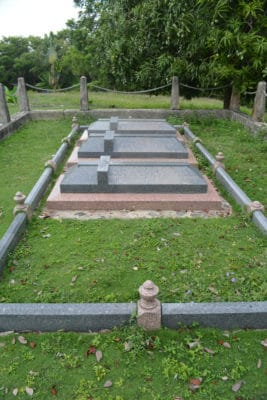Plantation owners graves