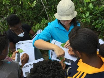 Students from Marcus Garvey Technical School on J.A.M.I.N. field trip at Seville Heritage Park