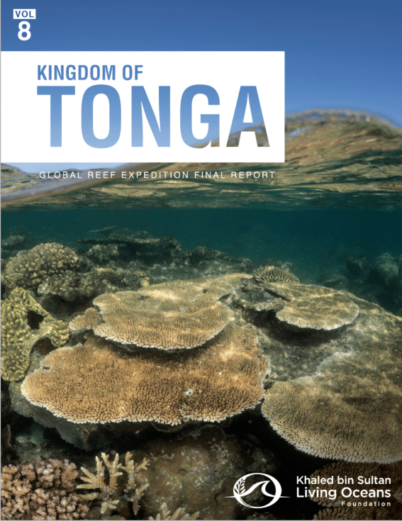 Global Reef Expedition: Kingdom of Tonga Final Report