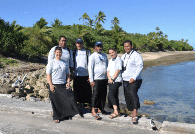 Tonga education team