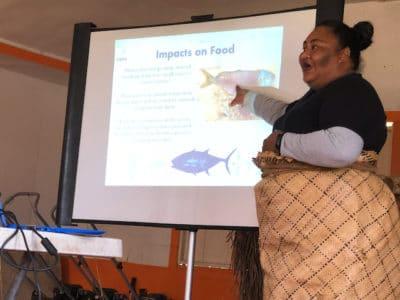 VEPA presentation in Tonga