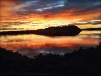 Sunset in Vava'u by Karen Stone of VEPA